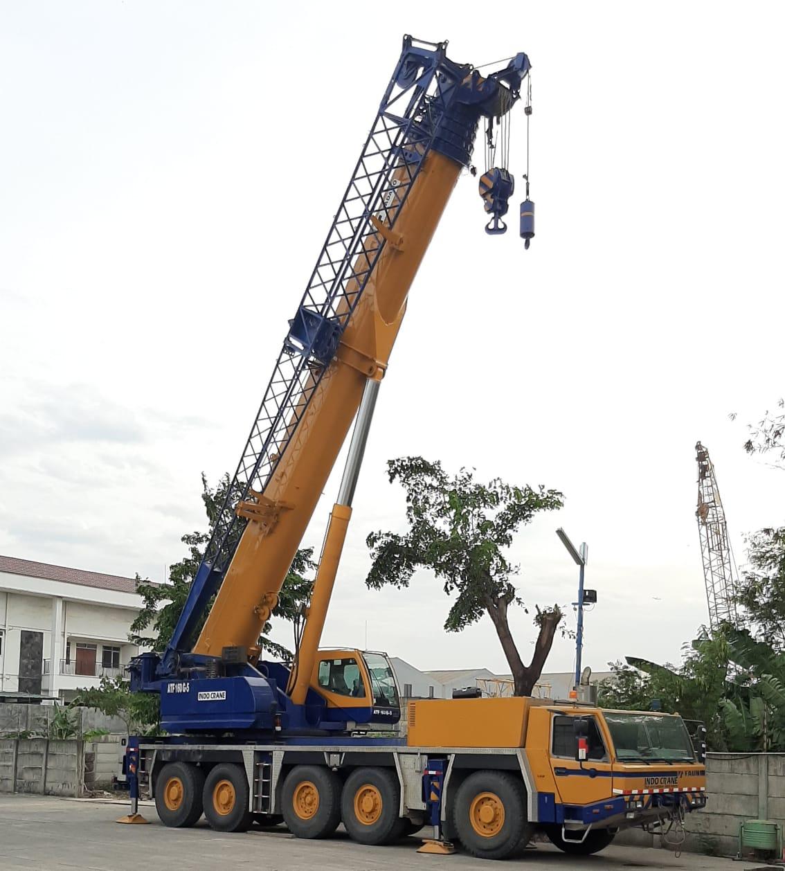 All Terrain Crane PT. Indo Crane Pratama
